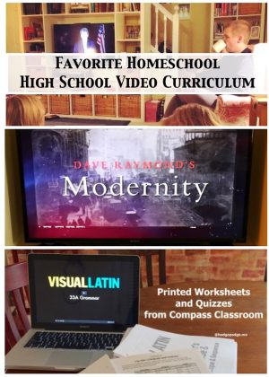 Favorite Homeschool High School Video Curriculum