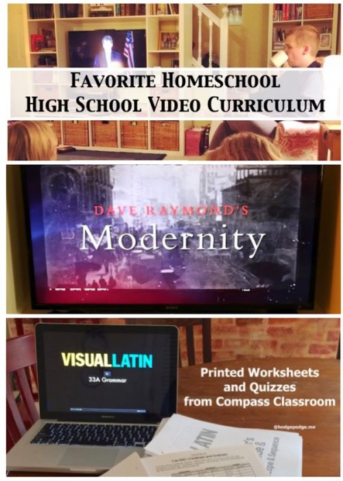 Wondering about all those high school credits? We enjoy learning and fulfill credits with our favorite homeschool high school video curriculum.