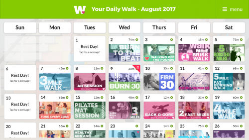 Walk at Home Homescchool PE is an easy way to get your daily workout in or an easy way to get that PE credit and it's way cheaper than a gym membership too!