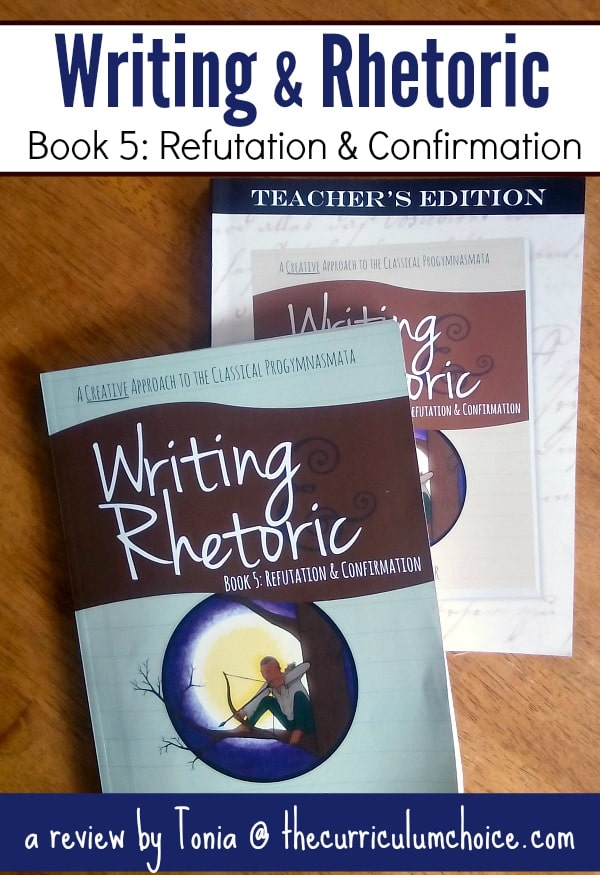We've tried a handful of writing programs but the one program that we always return to is the Writing & Rhetoric series from Classical Academic Press.