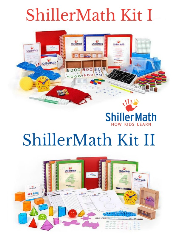 ShillerMath is a Montessori based math homeschool curriculum for ages pre-K to 8th grade that offers out of the box ease of use and tons of flexibility.