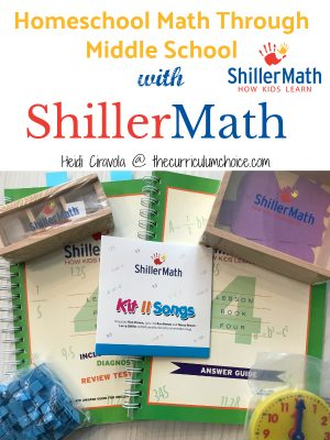 Homeschool Math Through Middle School: A ShillerMath Review