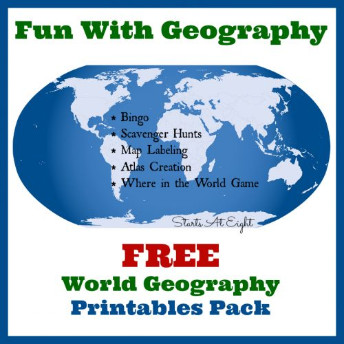 Teaching Geography in Your Homeschool - The Curriculum Choice