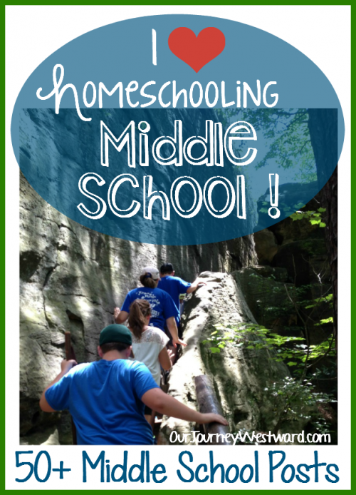 Homeschooling middle school is easy with all these fun ideas! #homeschooling #middleschool