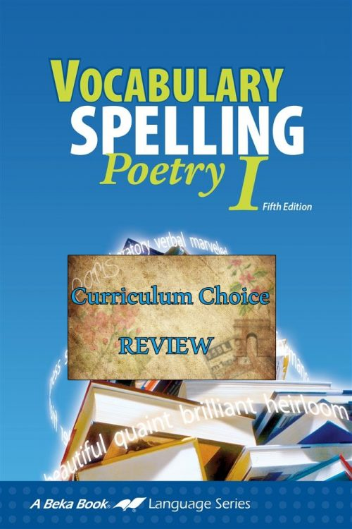 If you are looking for an academically challenging, quality middle school spelling and vocabulary program, my family recommends Vocabulary, Spelling, and Poetry I.