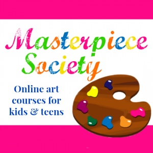 Homeschool Art Curriculum - Masterpiece Society: Online art courses for kids & teens