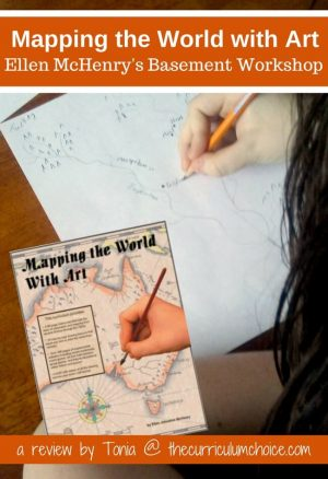 Looking for a fun way to study geography with your kids? Then you need to take a look at Mapping the World with Art from Ellen McHenry's Basement Workshop!