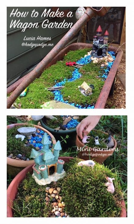 how to make mini gardens