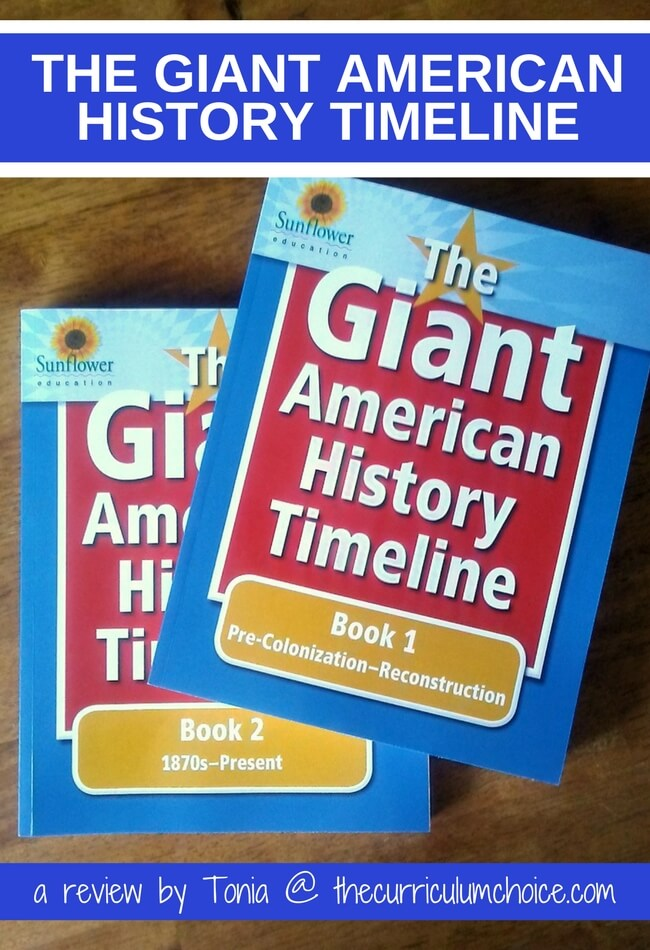 You won't find any dry, boring history lessons with this program! Instead, American history comes alive as you create each Giant American History Timeline.