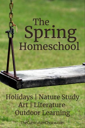 The spring homeschool is a rejuvenated homeschool full of wonderful learning opportunities.