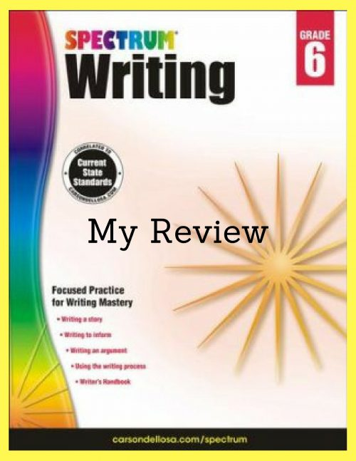 Middle School Writing Resources By Spectrum The Curriculum Choice