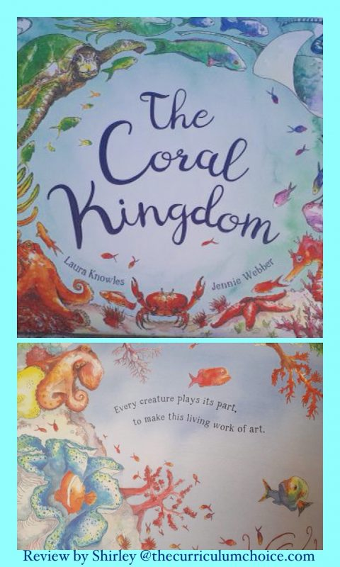 From shimmering shoals of fish to the vivid colours of the oceans coral gardens, the Coral Kingdom book celebrates the coral reef. Beautiful illustrations take the young reader on an underwater adventure, introducing them to the wonders of our planet's hidden treasures.