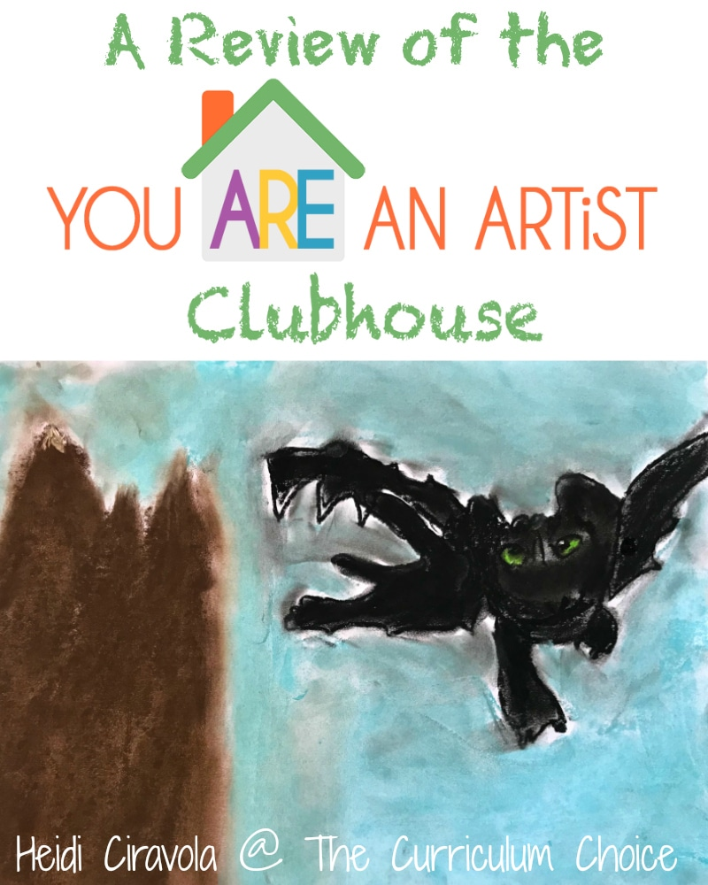 The You Are An Artist Clubhouse Membership is an online video art lesson goldmine where you have access to endless amounts of art lessons taught by Nana. You grab your chalk pastels, paper, and go!