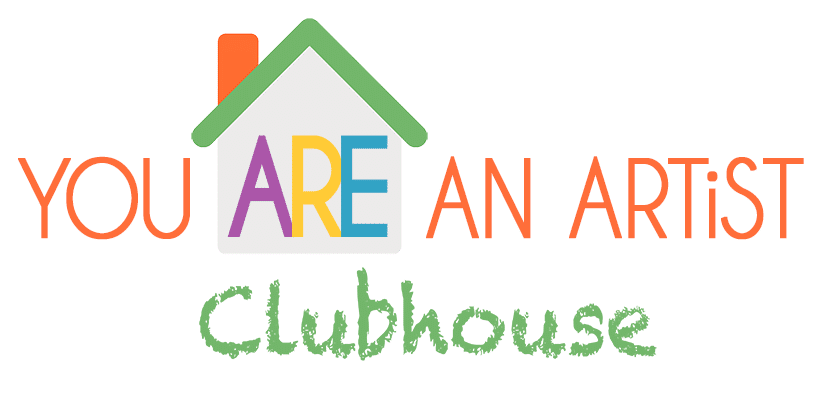 You Are An Artist Clubhouse Logo