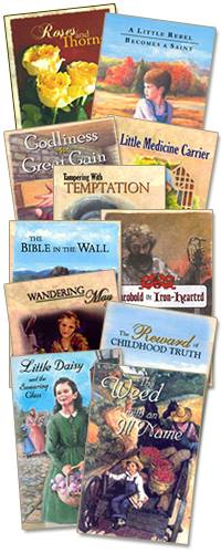 Are you looking for character development resources your children? How about resources that are Biblically based? You will find character Development for Kids in Grace and Truth Books.
