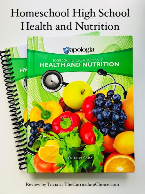 Homeschool High School Health and Nutrition - I was very impressed with the table of contents and all that is included in this subject. This health and nutrition text addresses the 'whole person' with the spiritual aspect and with very practical suggestions for proper care.