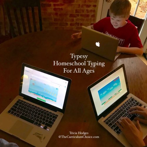 This is such an easy and FUN way to fit in typing skills — great for the every day homeschool. We will be building keyboard skills the whole year through with homeschool typing for all ages!