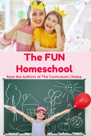 Having the FUN Homeschool doesn't have to be hard, take a lot of time, or empty your pockets. It doesn't even have to be messy. And fun is an easy way to connect with your kids!