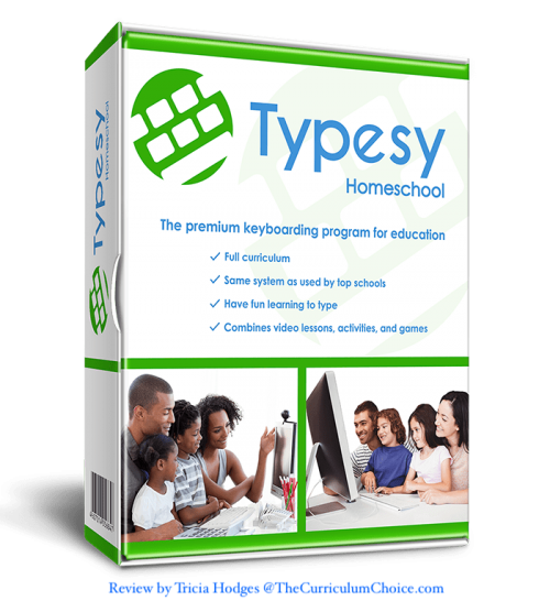 Typesy homeschool typing curriculum is such an easy and FUN way to fit in typing skills — great for the every day homeschool. We will be building keyboard skills the whole year through with homeschool typing for all ages!