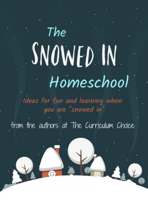 The Snowed in Homeschool from the Authors at The Curriculum Choice is all about things to do when you are stuck inside. Homeschooling, crafting, fun games, etc. Lots of ideas for what to do when the winter blues are eating at you!