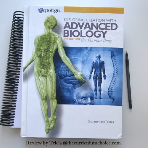 """My high schooler thrives on independent study. She is a """"give me the book and the notebooking journal and let me go"""" learner. Apologia Homeschool High School Advanced Biology meets her needs in that way with challenging subjects and the tools for her learning style."""