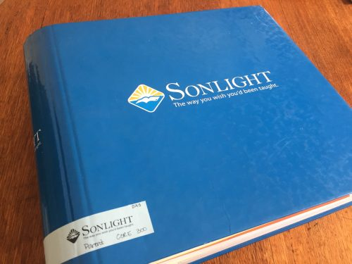 Sonlight Core 300 Review by Kendra Our family has used the Sonlight Curriculum in some fashion for the past seven years. Over the years we've moved through a variety of the Sonlight Core programmes, science programmes, and even a few of the language arts programmes. So it was that the 2018 school year found us with a student in Sonlight Core 300.