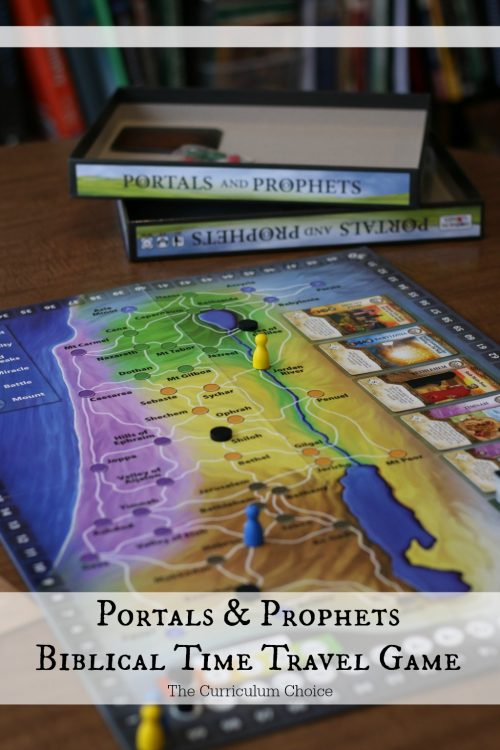 Review of a Biblical time travel board game - can you get to the right place at the right time in ancient history Bible times? Portals & Prophets is a time travel Biblical board game focusing on moving your player to various locations on the map of Israel and a solid addition to your Biblical gaming collection!