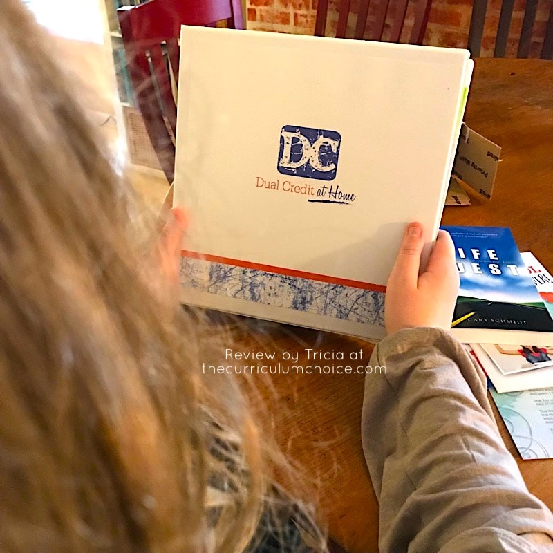 With the Dual Credit at Home study plans, your child can earn both high school and college credits at the same time. As homeschoolers, we have much more freedom in designing and choosing our studies and the routes of learning we take.