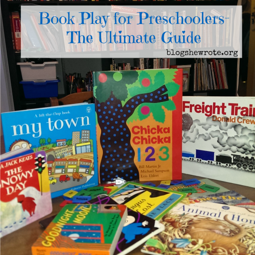 picture books on a table