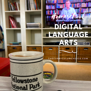 When you think of homeschool language arts do you think of traditional textbooks, spelling quizzes, writing resources and workbooks? We use all of those wonderful tools in our homeschool too. But homeschool digital language arts have enriched our learning greatly too. Let me show you what I mean.