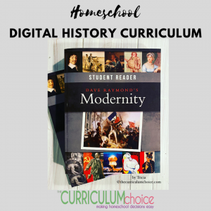 Digital homeschool history curriculum from Compass Classroom offers a wonderful Biblical worldview which is very important to us. And the digital, streaming classes make it so very versatile for a high school schedule and cycling through homeschool history.
