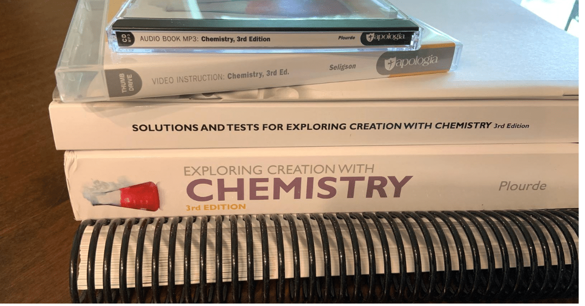 chemistry homeschool curriculum