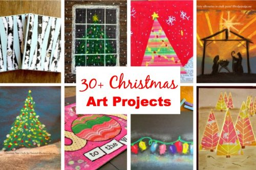 The Christmas Homeschool - Art Projects to Enjoy with your Children