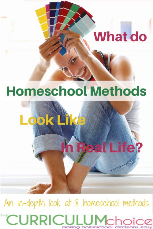 What do homeschool methods look like in real life? Come with us as we take a look at how the various methods play out in real homeschools, going beyond just a basic definition and supplying you with tons of resources for each homeschool method.