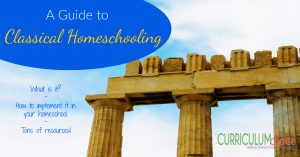 A Guide to Classical Homeschooling - what is classical education, how you can implement in your homeschool, and tons of resources!