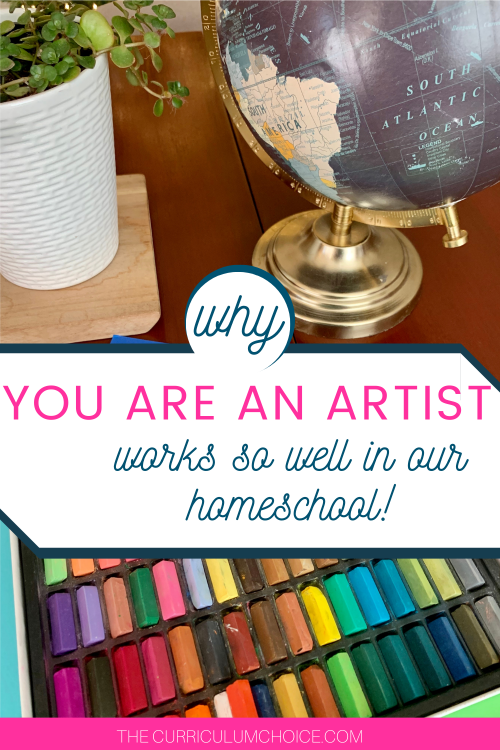 You ARE An Artist, Homeschool Art Lessons cover multiple subjects, not just art! Literature, History, Science, and more included.