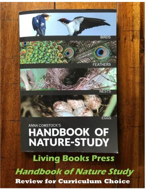 When I saw that Living Book Press was creating a new version of the Handbook of Nature Study updated with full color images, I was extremely excited! In addition, I learned they were splitting up the huge 900+ page book into seven smaller volumes.