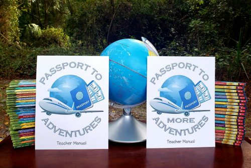 Passport to More Adventures are easy homeschool studies perfect for interest-led learning using the popular Magic Tree House sequel books Merlin Missions.