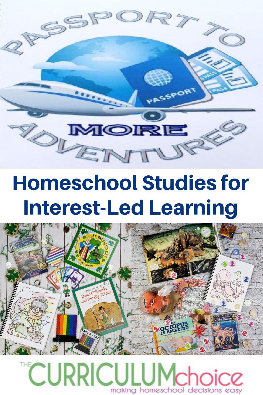 Passport to More Adventures - easy homeschool unit studies using the popular Magic Tree House sequel books Merlin Missions.