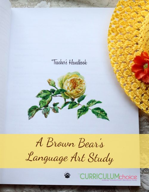 A Brown Bear's Language Arts Study for kids 9-11, presents a Bible-based, literature-inspired study based on The Adventures of Buster Bear.