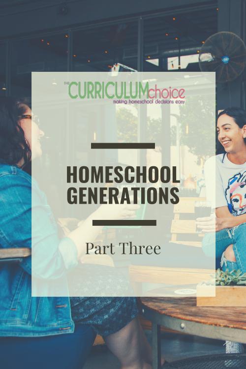 Second-Generation Homeschool Moms Share Their Perspectives- Homeschool Generations: Part 3