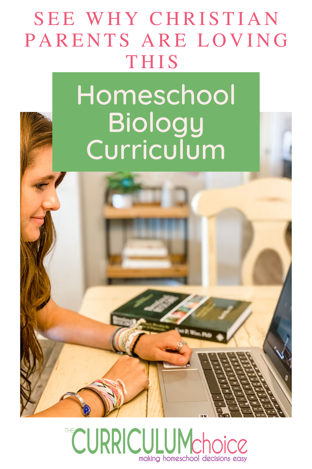 If you have a high school student that needs a biology credit, check out this solid resource for homeschool biology curriculum. #homeschoolbiology #homeschoolscience #highschoolcurriculum