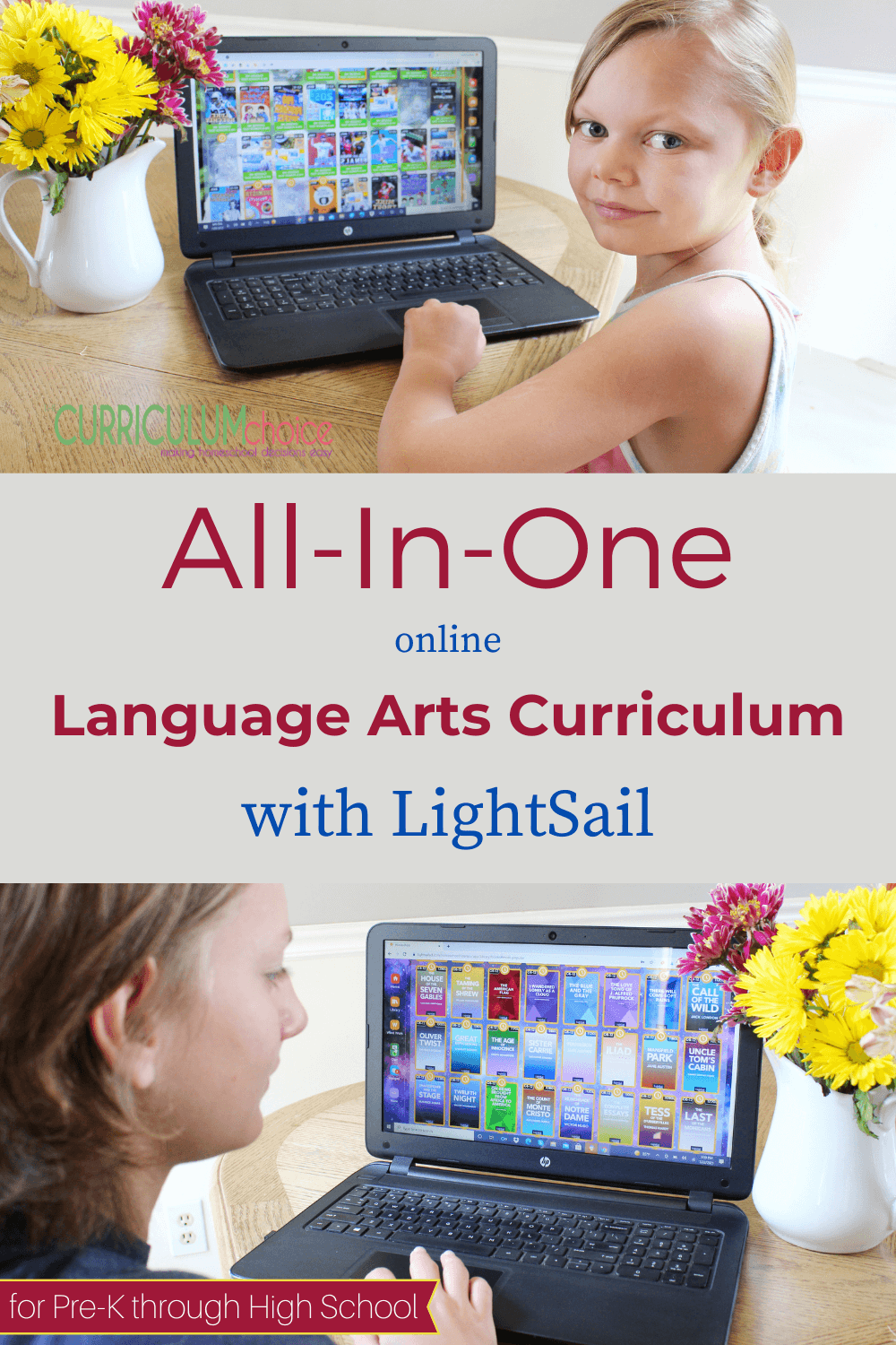 All-In-One Online Language Arts Curriculum with LightSail: An online language arts curriculum is no longer a mythical unicorn in the homeschool world. Now you can combine reading, writing, vocabulary, and fluency for pre-K through high school, all with one unique online program! #LightSail #languagearts #onlinelanguagearts #languageartscurriculum #review #homeschool #onlinecurriculum