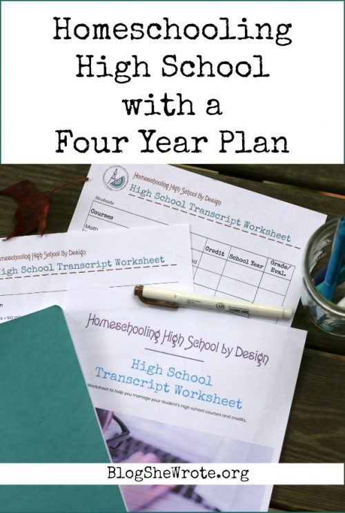 paper planner with a pen and notebook on a wood surface Parent's Guide: Prepping for Homeschooling High School