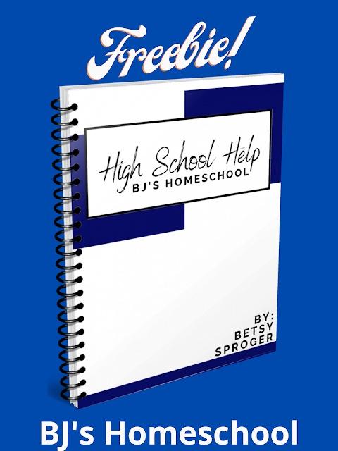 High School Help Freebie! Parent's Guide: Prepping for Homeschooling High School