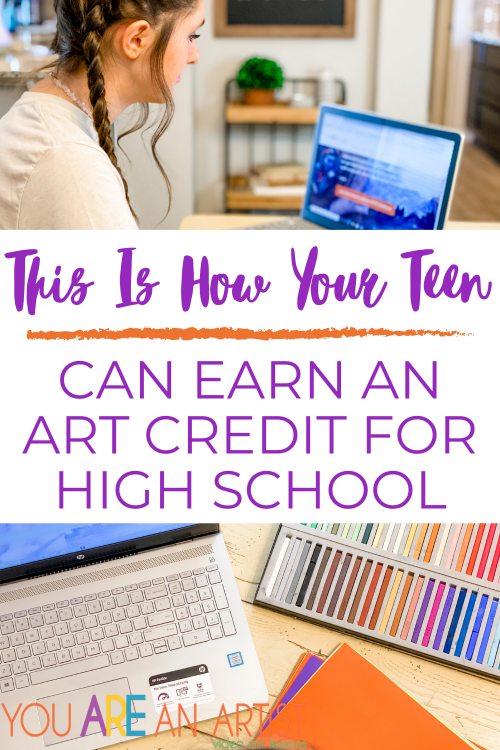 As fellow homeschoolers, we know that homeschool families like to plan their own way! That's why You Are An Artist is an excellent fit for your visual art credit needs. Our flexible path to a visual art credit with chalk pastels allows you the freedom to plan; however it best suits your student.