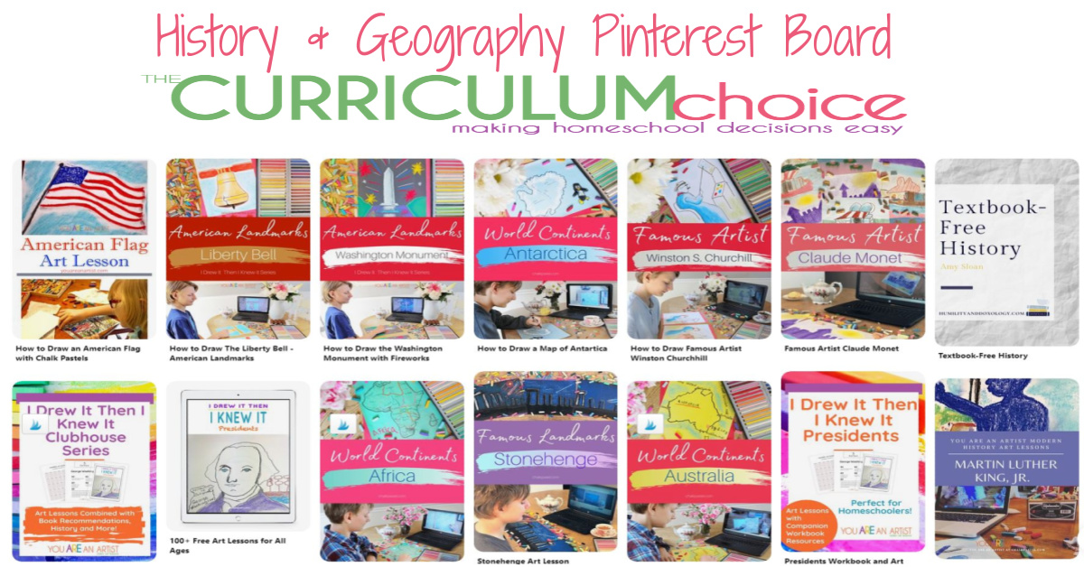 TCC History and Geography Pinterest Board