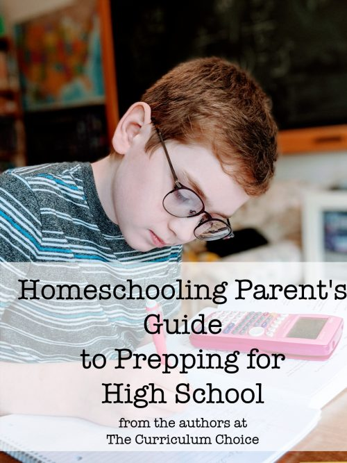Resources and tips for prepping fro homeschooling high school with your teen. An Ultimate Guide full of resources from veteran homeschoolers.