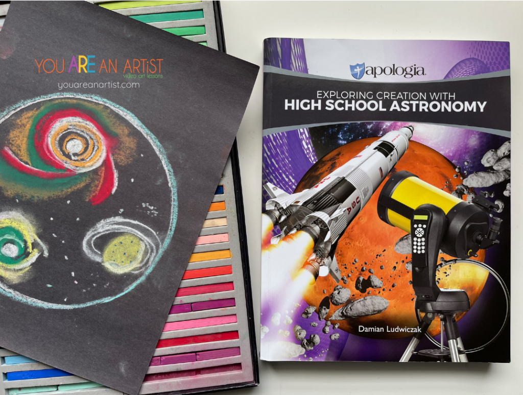 Homeschool Science and Art Match-Up!