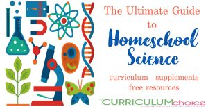 The Ultimate Guide to Homeschool Science is a collection of science curricula, supplements and free resources both secular and Christian.